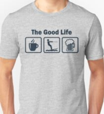 Funny Waterskiing Good Life T-Shirt