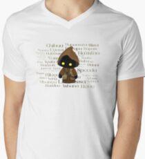 Jawa and Jawaese Mens V-Neck T-Shirt