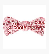 Bowties Photographic Print