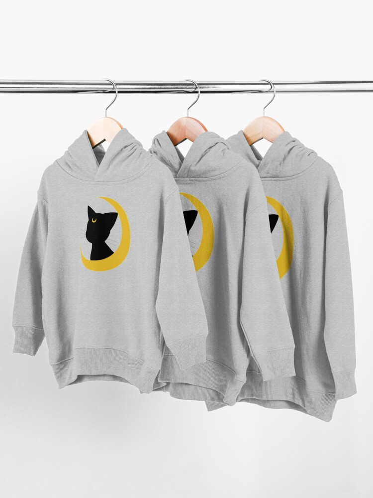 Alternate view of Luna Silhouette Toddler Pullover Hoodie
