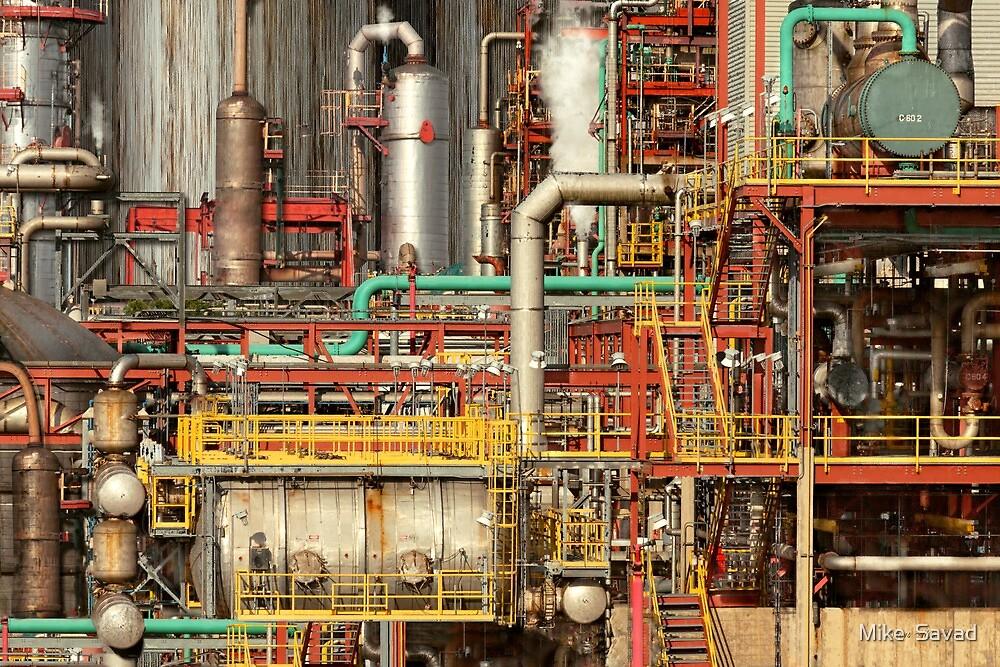 Steampunk - Industrial illusion by Michael Savad