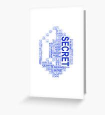 Secret rupees Greeting Card