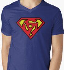 SUPER DJ Men's V-Neck T-Shirt