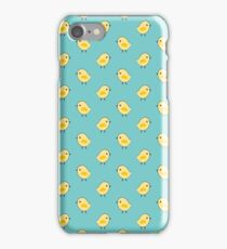 Busy Chicks - Aqua iPhone Case/Skin