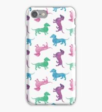 Raining Dachshunds iPhone Case/Skin