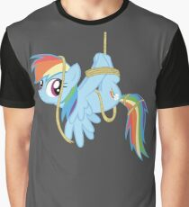 Tied-up pony Graphic T-Shirt