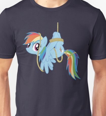 Tied-up pony Unisex T-Shirt