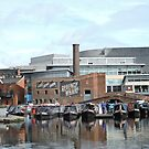 Boats at Regency Wharf, Birmingham by CreativeEm