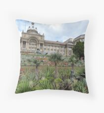 Victoria Square, Birmingham Throw Pillow