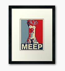 Beaker Meep Poster Framed Print