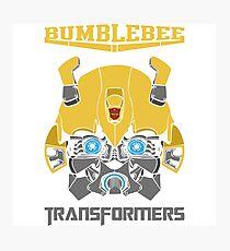 Bumblebee Transformers Photographic Print