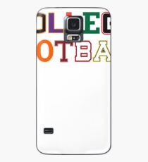 College Football Letters Case/Skin for Samsung Galaxy