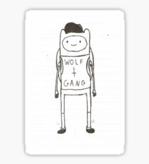 Finn the Human Odd Future Sticker