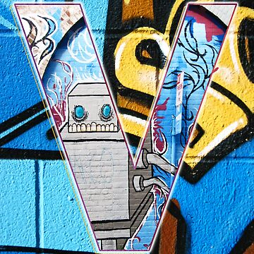Urban Alphabet V by TimSnyderSFArt