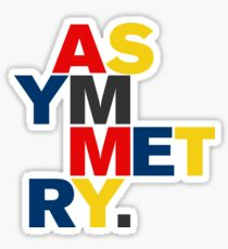 ASYMMETRY Sticker