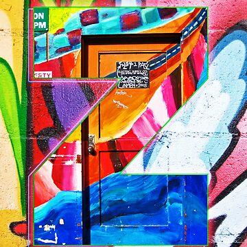 Urban Alphabet Z by TimSnyderSFArt
