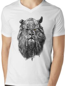 The eye of the lion vi/king Mens V-Neck T-Shirt