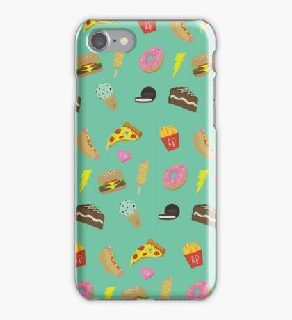Junk Food Summer iPhone Case/Skin