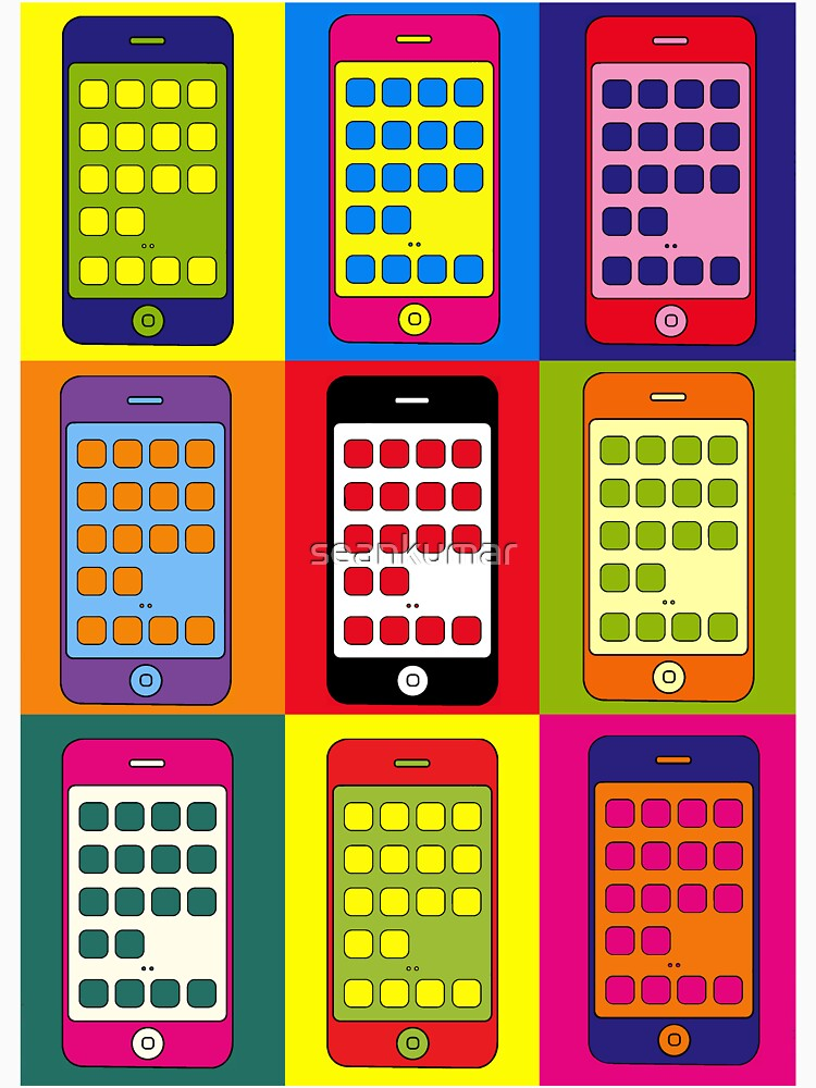 iPhones (Andy Warhol)  by seankumar