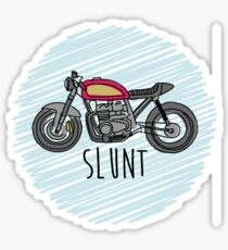 Cafe Racer Slunt Sticker