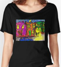 We live in the City Women's Relaxed Fit T-Shirt