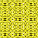 Smiley Faces Pattern by ironydesigns