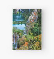 Plitvice Lakes National Park in Croatia Hardcover Journal