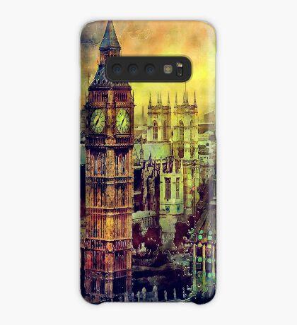 London BigBen Watercolor Case/Skin for Samsung Galaxy