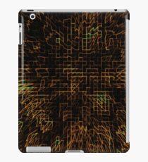 Abstract Matrix iPad Case/Skin