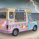 Ice Cream Van by Raewyn Haughton