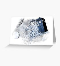 I stole a Timelord and ran away Greeting Card