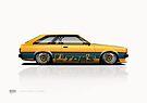 70 Series Corolla Liftback by kanseigazou