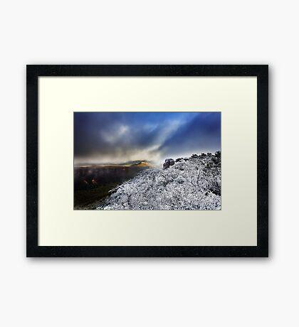 Mount William Snow (FULL) Framed Print
