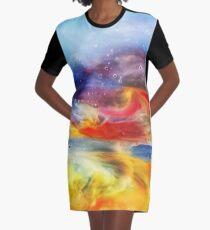 Sea world Graphic T-Shirt Dress