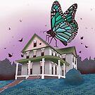 Butterfly House by Raewyn Haughton