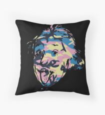 Genius in disguise Throw Pillow