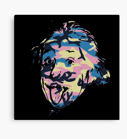Genius in disguise Canvas Print