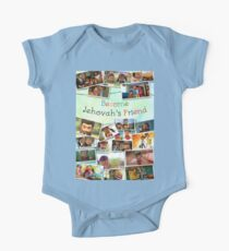 Become Jehovah's Friend - Caleb and Sophia Snapshots One Piece - Short Sleeve