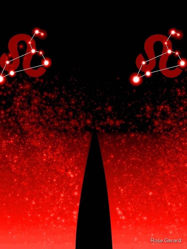 Leo - Red by arkadyrose