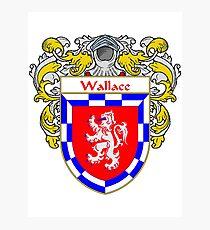 Manteau de Wallace / Armoiries Wallace Impression photo