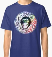 Rainbow colored Monkey / Philip DeFranco Show Logo Classic T-Shirt