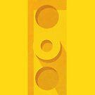 Yellow plate back by eskimoeffect