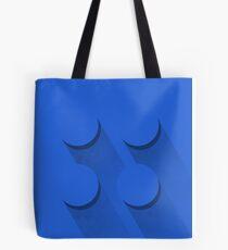 Blue brick Tote Bag