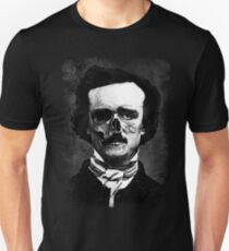 Edgar Poe Horror Mask Unisex T-Shirt