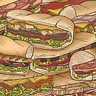 Subway sandwhiches by Raewyn Haughton