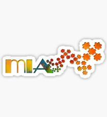 The Name Game - Mia Sticker