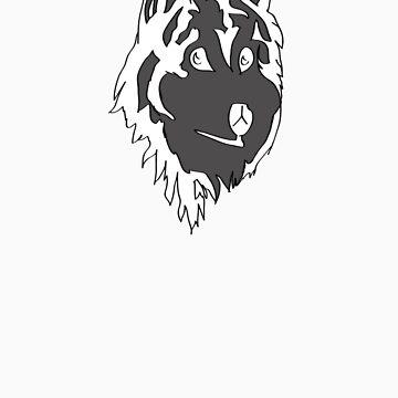 Mystic Wolf by Four-Bears-Inn