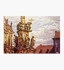 Prague St. Nicholas Church Photographic Print