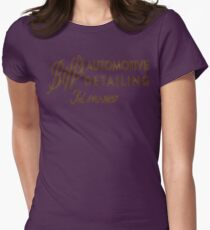 Biff's Automotive Detailing Womens Fitted T-Shirt
