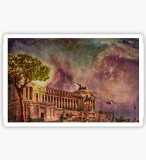 Piazza Venezia Rome Sticker